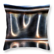 At The Bend Throw Pillow