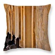 At The Castillo De San Cristobal Throw Pillow