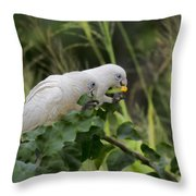 At The Dinner Table Throw Pillow
