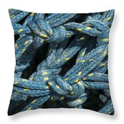 At The Docks Throw Pillow