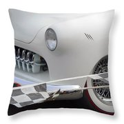 At The Drags Throw Pillow