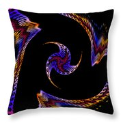 At The End Of The Universe Throw Pillow
