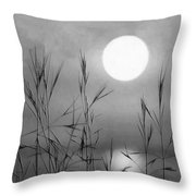 At The Full Moon Throw Pillow