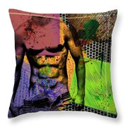 At The Right Mood Throw Pillow