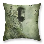 At The Top Throw Pillow by Svetlana Sewell