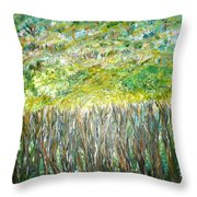 At The Whims Of Limbs Throw Pillow