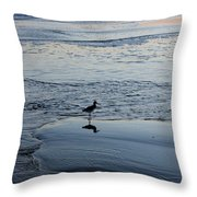 At Twilight Throw Pillow by Suzanne Gaff