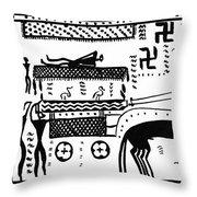 Athenian Chariot Throw Pillow