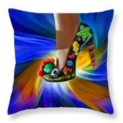 Athenna's Shoe Throw Pillow