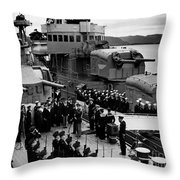 Atlantic Charter, 1941 Throw Pillow