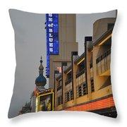 Atlantic City House Of Blues Throw Pillow