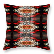 Atlantic City Lights Throw Pillow by Glennis Siverson