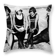 Atlantic City: Women Throw Pillow