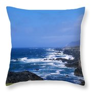 Atlantic Ocean, Achill Island, Looking Throw Pillow