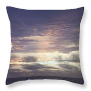 Atlantic Ocean Sunrise 1 Throw Pillow