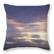 Atlantic Ocean Sunrise 2 Throw Pillow