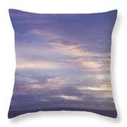Atlantic Ocean Sunrise 3 Throw Pillow