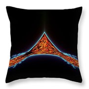 Atlantis Rising Throw Pillow