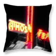 Atmos Fear Throw Pillow