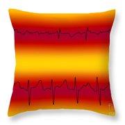 Atrial Flutter & Atrial Fibrillation Throw Pillow