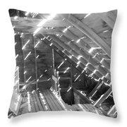 Attic Light Throw Pillow
