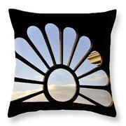 Attic Window Throw Pillow