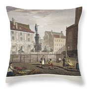 Augsburg, 1823 Throw Pillow