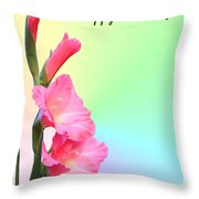 August Birthday Throw Pillow