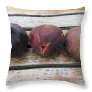 Figs On A Table  Throw Pillow