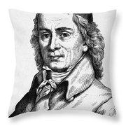 August Hermann Francke Throw Pillow