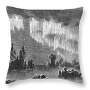 Aurora Borealis, 1868 Throw Pillow