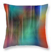 Aurora Borealis Xxii Throw Pillow