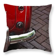 Austin Healey Throw Pillow