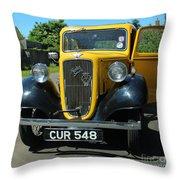 Austin Healey Seven 1937 Throw Pillow