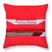Austin Healey Wings Throw Pillow