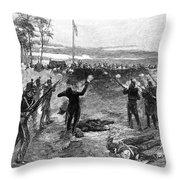 Australia: Rebellion, 1854 Throw Pillow