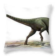 Australovenator Wintonensis Throw Pillow