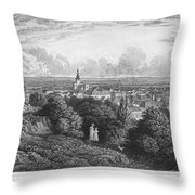Austria: Baaden, 1822 Throw Pillow