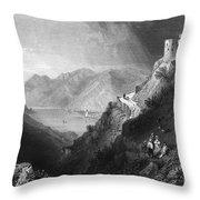 Austria: Hinterhaus Throw Pillow
