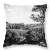 Austria: Klosterneuburg Throw Pillow