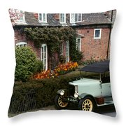 Auto: Jowett, 1927 Throw Pillow