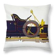 Auto: Rolls-royce, 1908 Throw Pillow