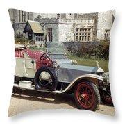 Auto: Rolls-royce, 1909 Throw Pillow