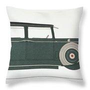 Automobile: Stutz, 1929 Throw Pillow