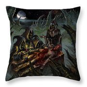 Autopsy Of The Damned  Throw Pillow