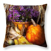 Autumn - Autumn Is Festive  Throw Pillow
