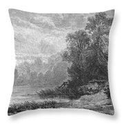 Autumn, 1873 Throw Pillow