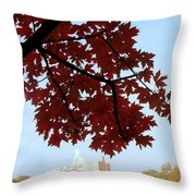 Autumn Afternoon In Peterborough Throw Pillow