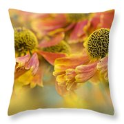 Autumn Breeze Throw Pillow by Jacky Parker