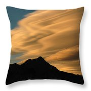 Autumn Clouds Jasper 2 Throw Pillow